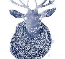Woolen creature by Stéphanie Gauthier