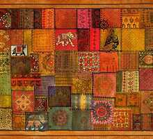 Patches of India by Sabine Spiesser