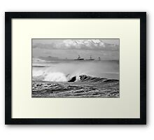 Bar/Dixon Beach Framed Print