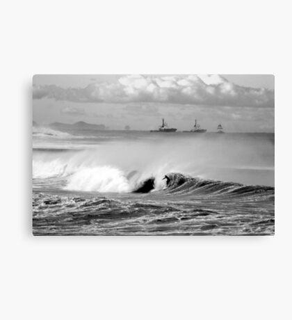 Bar/Dixon Beach Canvas Print