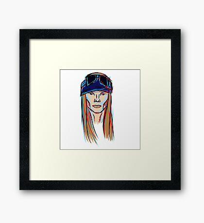Axl Rose Framed Print
