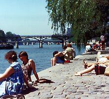 Spring Sunday, Paris by BruceW