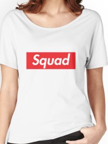 Supreme Squad Women's Relaxed Fit T-Shirt