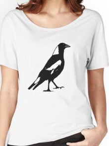 the magpie Women's Relaxed Fit T-Shirt