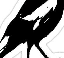 the magpie Sticker