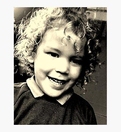 Curls Photographic Print