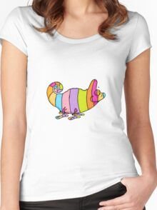 Chameleon Women's Fitted Scoop T-Shirt