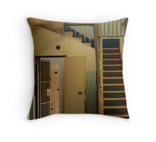 Geelong Jail Throw Pillow