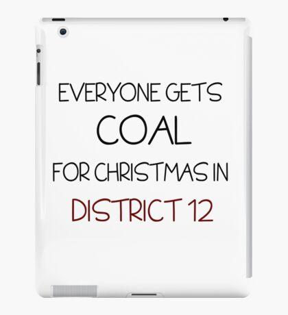 Coal for Christmas iPad Case/Skin