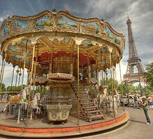 Paris Carousel by Craig Goldsmith