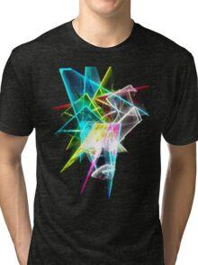 broken glass Tri-blend T-Shirt