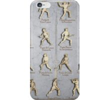 "Fiore dei Liberi ""Getty"" Armored Positions  iPhone Case/Skin"