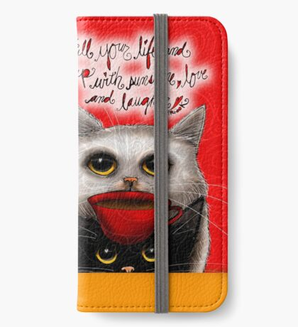 What my Coffee says to me March 5, 2016 iPhone Wallet/Case/Skin