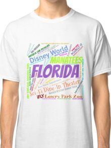 Florida Bucket List Classic T-Shirt