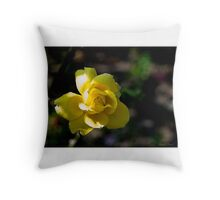 Notre Dame Rose Throw Pillow