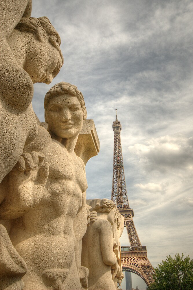 Eiffel Tower Statues by Craig Goldsmith