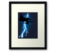 The Jump Knight Returns Framed Print