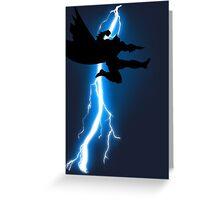 The Jump Knight Returns Greeting Card