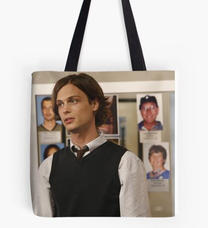 Reid spencer criminel minds matthew gray gubler Tote Bag
