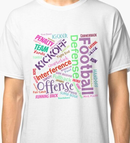 Football Terms Classic T-Shirt