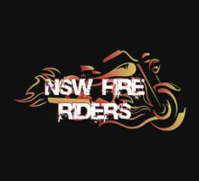 NSW Fire Riders Tees, Tanks, and Sweatshirts by Leigh Pilkington