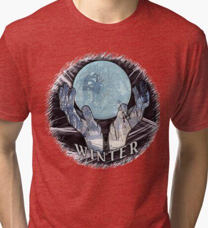 Winter in hand Tri-blend T-Shirt