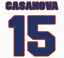 National baseball player Paul Casanova jersey 15 by imsport
