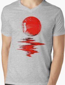 The Land of the Rising Sun Mens V-Neck T-Shirt