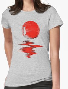 The Land of the Rising Sun Womens Fitted T-Shirt