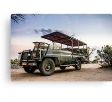Safari Land Cruiser Canvas Print