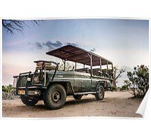 Safari Land Cruiser Poster