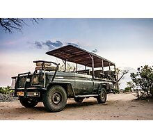 Safari Land Cruiser Photographic Print