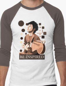 Be Inspired Men's Baseball ¾ T-Shirt
