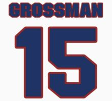National baseball player Harley Grossman jersey 15 by imsport