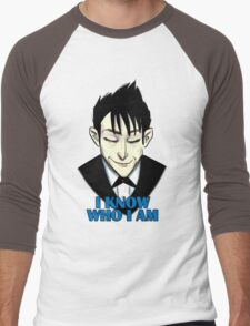I know who I am Men's Baseball ¾ T-Shirt