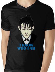 I know who I am Mens V-Neck T-Shirt