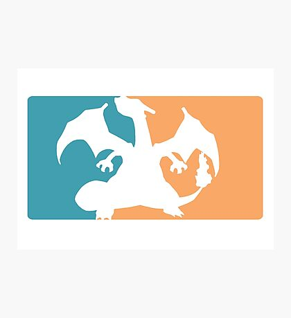 charizard pokemon major league Photographic Print