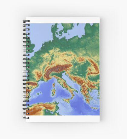 Europa Spiral Notebook