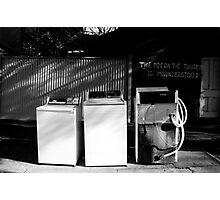 Laundry Photographic Print