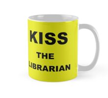 Kiss the librarian Yellow Mug Tablet Cover Pillow Phone Cover Mug