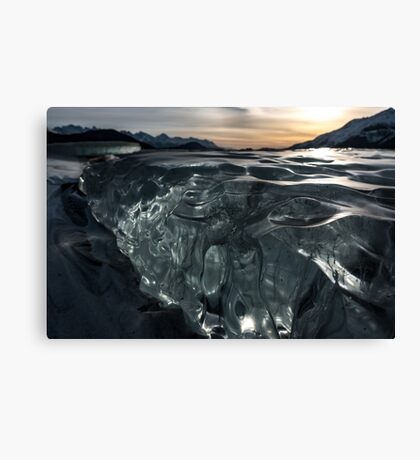 Ice is Alaska Canvas Print