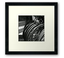Cycles Framed Print