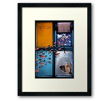Girl Factory Framed Print