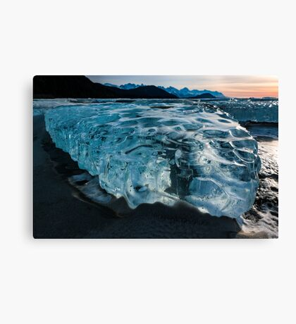 Alaska in Freeze Canvas Print