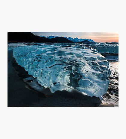 Alaska in Freeze Photographic Print