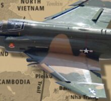 F-4 Phantom USAF Vietnam Veteran Sticker