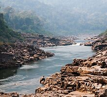 A last glimpse of Nam Kading river by Thomas Calame