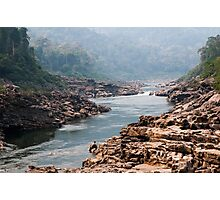 A last glimpse of Nam Kading river Photographic Print