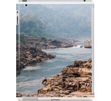 A last glimpse of Nam Kading river iPad Case/Skin