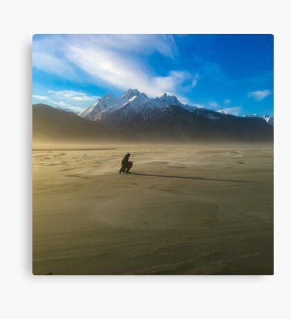 Windblown in Alaska Canvas Print